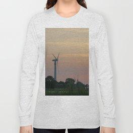 ad solis occasum ventus turbines ab Horumersiel Long Sleeve T-shirt