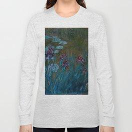 "Claude Monet ""Irises and Water-Lilies"", 1914 - 1917 Long Sleeve T-shirt"
