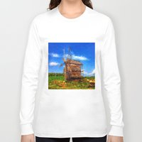 ukraine Long Sleeve T-shirts featuring My Ukraine ^_^ by Julia Kovtunyak