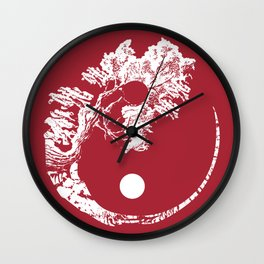 Judaism acacia tree moon faith sign gift Wall Clock