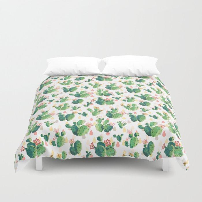 Cactus pattern Bettbezug