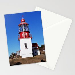Lighthouse Cap-Chat Quebec Stationery Cards