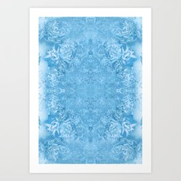 ICE FORM (01) Art Print