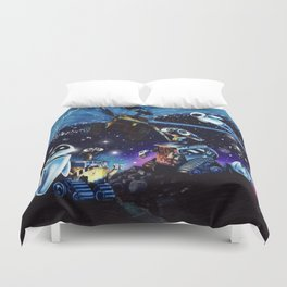 Wall-E Collage Duvet Cover