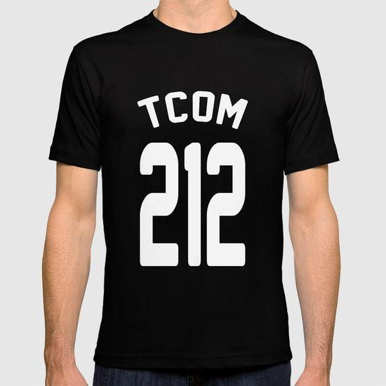 TCOM 212 AREA CODE JERSEY T-shirt