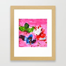 BUTTERFLiES TRANSFORMATiON | Craft Kid Framed Art Print