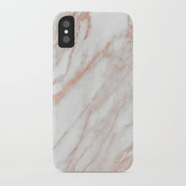 Marble Rose Gold - Am I Wrong iPhone Case