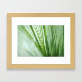 Dancing Grasses Framed Art Print
