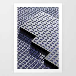 Urban Geometry  Art Print