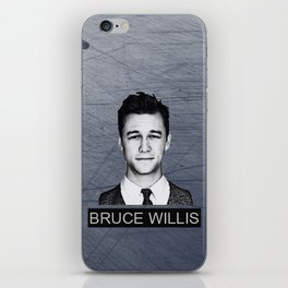 Bruce Willis iPhone Skin