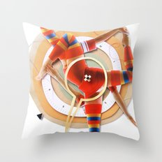 Pivot | Collage Throw Pillow
