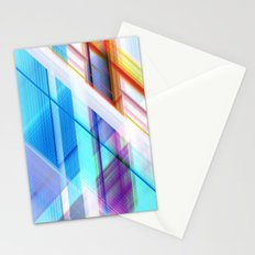 blue elevator Stationery Cards