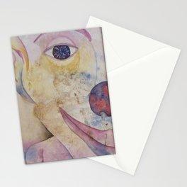 Béat...Naïf...Heureux Stationery Cards