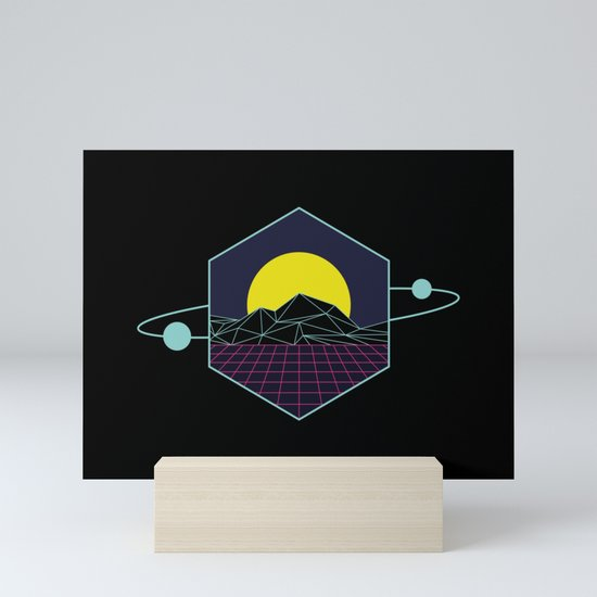 Outrun to the Sun / Spacewave / 80s Retro by graphicwavedesign