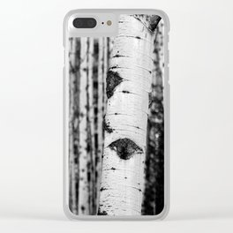 Through the Forest Clear iPhone Case