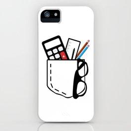 Graphic pocket iPhone Case