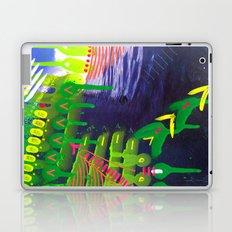 Wave green Laptop & iPad Skin