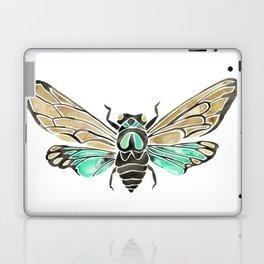 Summer Cicada – Mint & Tan Palette Laptop & iPad Skin