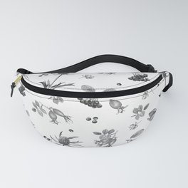 rosehip, chokeberries and teasel Fanny Pack