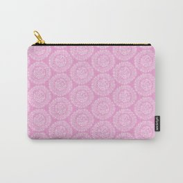Pink Mandalas Carry-All Pouch