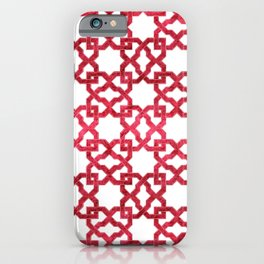 Geometric Pattern - Oriental Design rmx iPhone Case