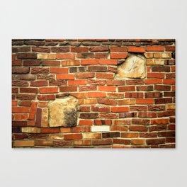 brickwall Canvas Print