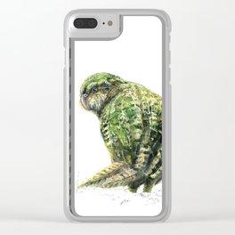 Mr Kākāpō Clear iPhone Case