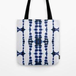 Boho Tie-Dye Knit Vertical Tote Bag