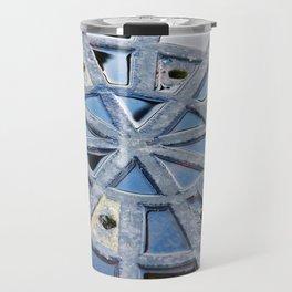 Circle Abstract Art Travel Mug