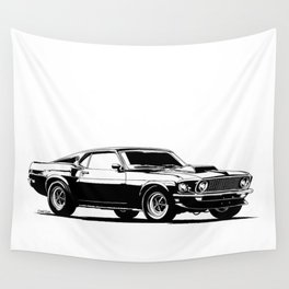 A. M. 4 Wall Tapestry