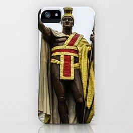King Kamehameha iPhone Case