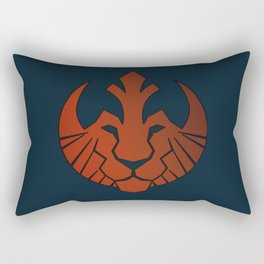 Athletic Club Lion Rectangular Pillow