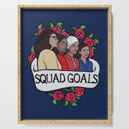 The Squad Serving Tray