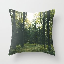 Forest XIX Throw Pillow