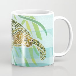 Sea Turtle at Home Coffee Mug