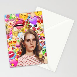 LANA DEL EMOJI Stationery Cards