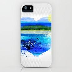 Sea in my heart iPhone (5, 5s) Slim Case