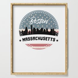 My City, My Home BOSTON / MASSACHUSETTS Serving Tray