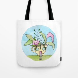 In The Garden: May Tote Bag