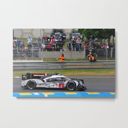 919 Hybrid Sports Motor Car 24 Hours of Le Mans 2016 Metal Print
