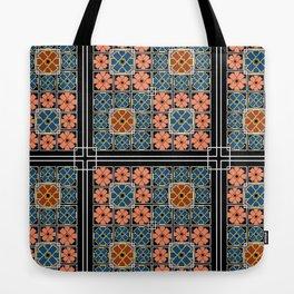 bohemian flowers Tote Bag