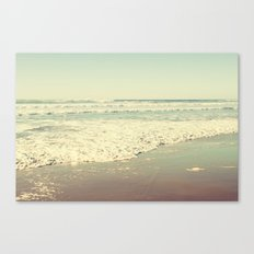 Oregon Beach Lomography Canvas Print