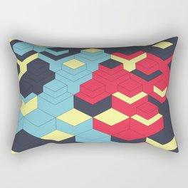 Two Sides A + B Rectangular Pillow