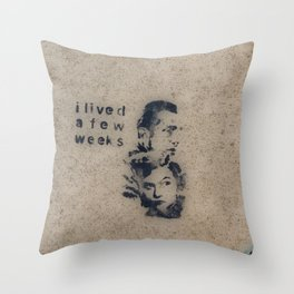 Cemented Series 2 Throw Pillow