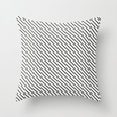 IJzerman Black & White Pattern Throw Pillow