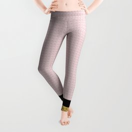 Pink and Gold Leggings