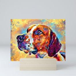 English Foxhound Mini Art Print