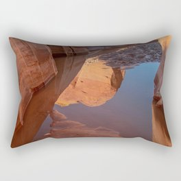 After the Rain - II, Valley_of_Fire Canyon, NV Rectangular Pillow