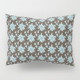Ratking Flowers [Blue] Pillow Sham