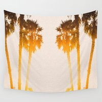 west coast Wall Tapestries featuring WEST COAST by Jack Stobart